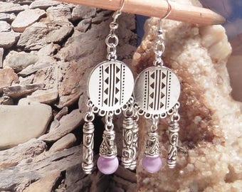 Western cowboy earrings
