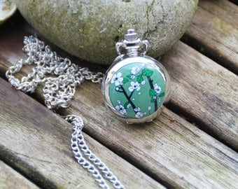 Pocket Watch Silver opening