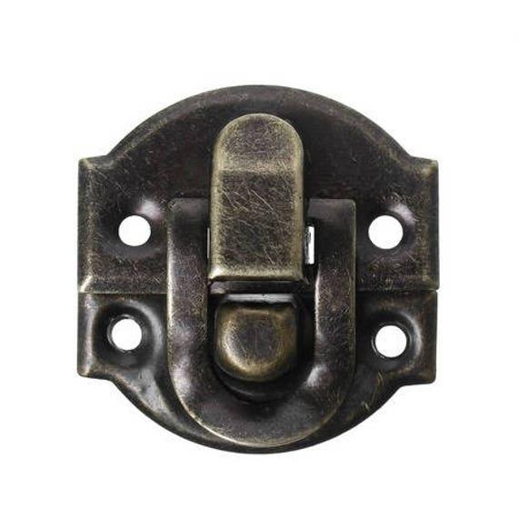 1 clasp set - bronze - size: 27 mm