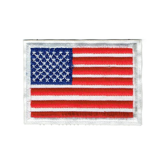 """Patch fusible pattern """"American flag"""""""