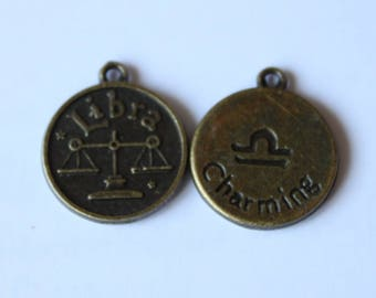 part of the zodiac sign charm, dangles 20 * 16 mm