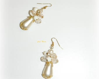 IVORIA - UNIQUE PIECE earrings