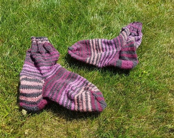 Socks size 39 self knitted