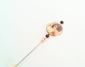 brooch, fibula, old PIN Hat N ° 106