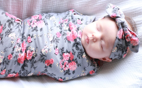 Baby Swaddle With Head Support