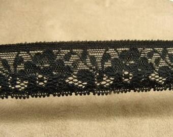 LACE - 2.5 cm - black