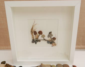 Pebble/Stone Art - 'Woodland Walk'