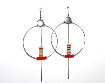 "BO Creole resistance and wire recycled ""Red"""