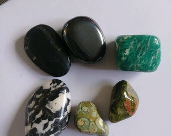 polished rocks, polished stones, small stones lot, healing stones, rocks and gems, rocks and minerals, mineral specimens, tumbled stones