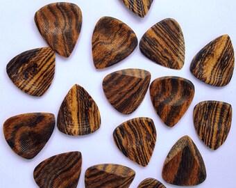 Bocote Wood Guitar Picks