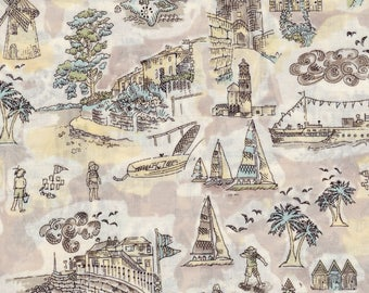 Coupon 79cm beige Liberty Isle of Wight