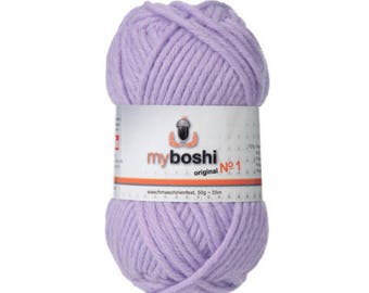 Wool MyBoshi 161 lilac color