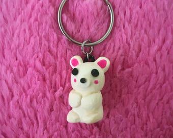 Teddy Bear Keychain | Cute Kawaii Keyring | 100% Handmade