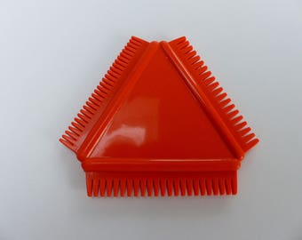 toothed comb for 3 triangle shaped mosaic adhesive rubber different teeth