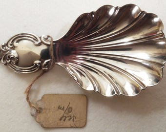 Sterling silver Caddy Spoon by Aaron Hadfield Sheffield