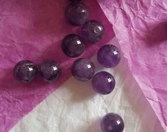 Pearl Amethyst 8 mm round. (8155514)