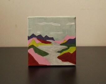 Multicolor Mountain
