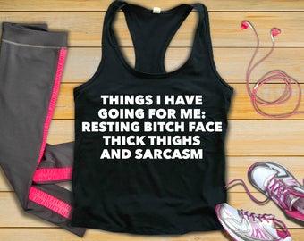 sarcastic workout clothes, funny workout shirt, plus size workout tank, funny workout tank, funny workout shirts, plus size workout