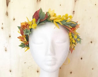 """The """"Louise"""" Flower Crown"""