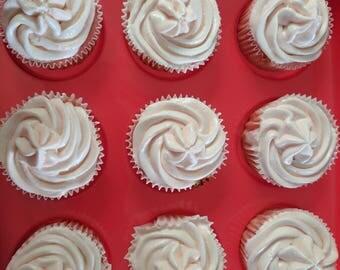 Strawberry margarita cupcakes