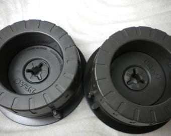 NOS Teac or Tascam TZ-613 TZ-612 Hub Adapter for 10'' Reel 1/4 Tape Brand New Made in Japan Grey color