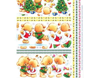 Couple bears Christmas RY82187