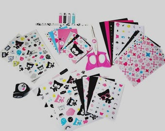 Box cardmaking 250 pcs - Toga Chacha with box. Ideal to offer complete kit.
