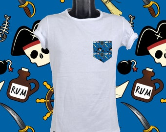 POCKET TSHIRT PIRATES