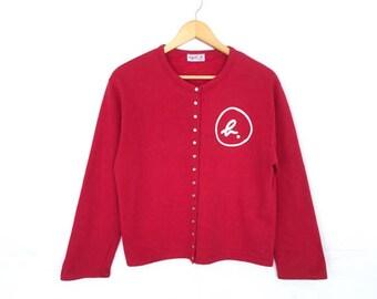Agnes b. Paris Fashion Designs Button Jacket Cardigan Women