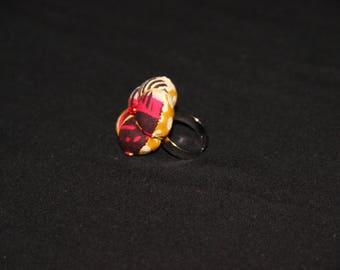 Ring fabric - Maasai Adjustable ring