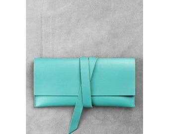 Travel case - turquoise color
