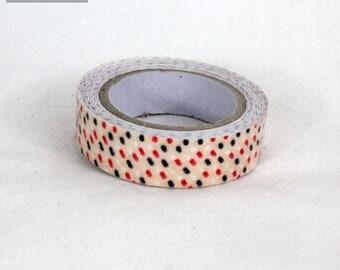 masking tape 15 mm dot cotton