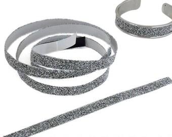 Tape adhesive Element Swarovski® Crystal Fabric IT flat.  (11mm) - C A L - 20 cm