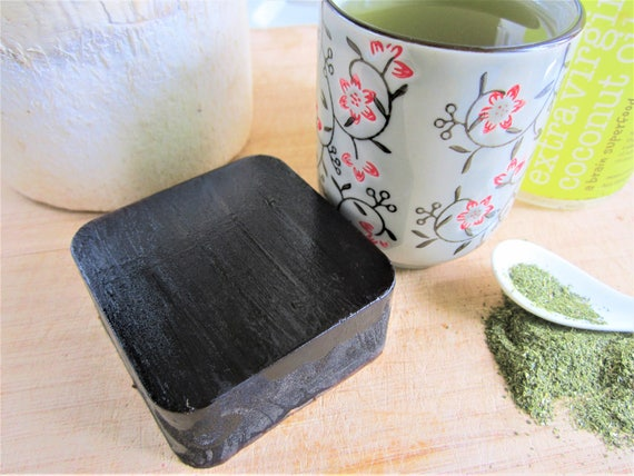 Matcha and Coconut Handmade Bar Soap by Shawn's Soaps