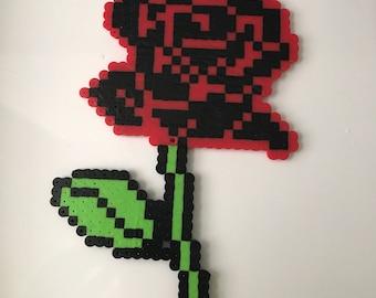 Rose Perler Bead