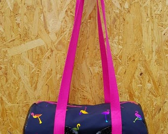 Bag Kameleon BDJ Sportbag Flamingo Pink bow purse