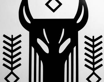 Destiny Trials Of Osiris Hic Jacet Emblem Vinyl Decal