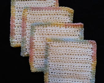 Mug rugs set of 4
