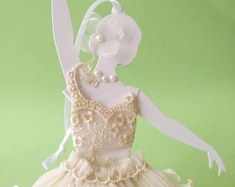 Ballerina, decorative item to hang