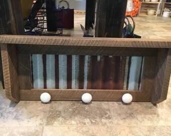 Rustic Shelf Rack