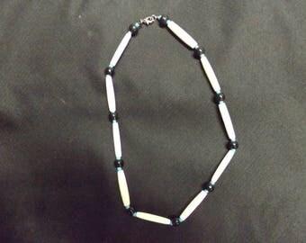 Necklaces Native American Bone & Buffalo Horn
