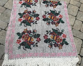 vintage woven sarape