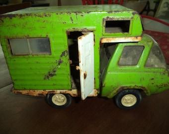 1970s Tonka Truck Toy Camper Hippy Van
