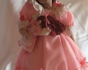 "The Hamilton Collection ""First Party"" Porcelain Doll"