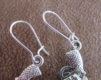Pistal Earrings... Wild and Fun !!