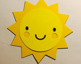 Sun Decoration (Can be made with many different colors)