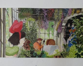 Kiki delivery service: Painting Print