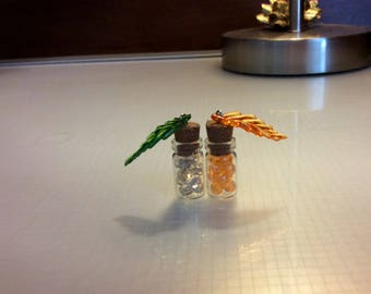 Winter and Fall Bottle Charms