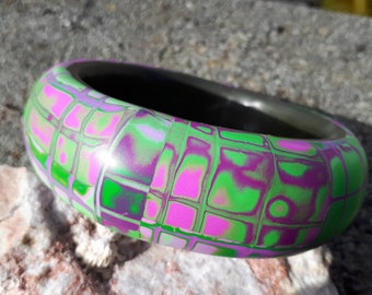 "Bracelet polymer clay ""Tropics"""