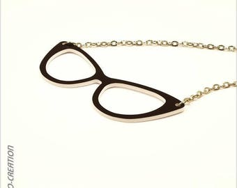 "Necklace ""Butterfly"" (large) glasses"